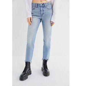 Levis Wedgie Icon Fit Jeans raw hem